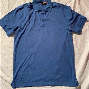 "Port Authority Size L Short Sleeve Blue Length 33"""